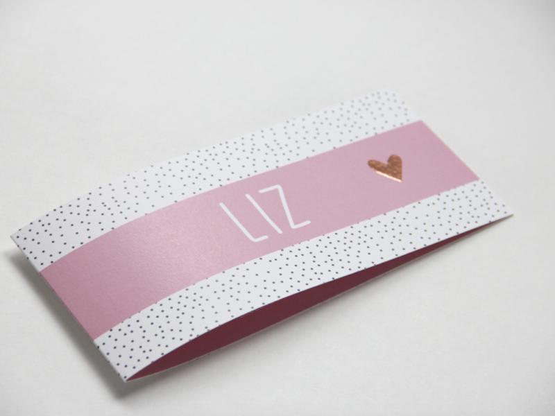 Geboortekaartje 'Liz'